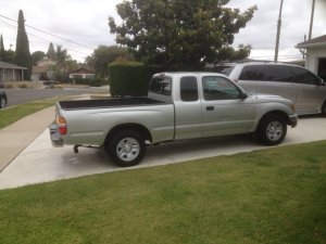 Silly boys! Trucks are for girls! Well, not really… For sale: 2004 Tacoma