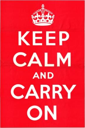 Keep Calm and CarryOn